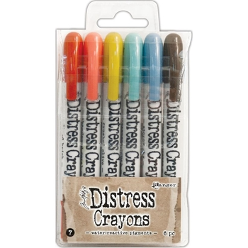 Ranger Tim Holtz Distress Crayons SET 7 TDBK51770