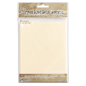 Ranger Tim Holtz Distress 4.25 X 5.5 MIXED MEDIA HEAVYSTOCK TDA53835