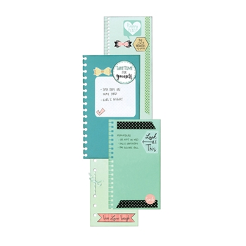 Sizzix PLANNER PAGE BINDABLES Thinlits Die Set 661528