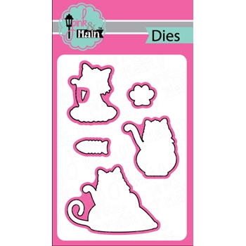 Pink and Main MEOW Die Set 022542