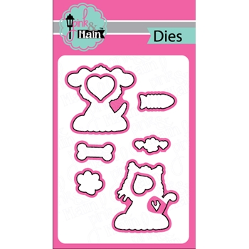 Pink and Main FUR FRIENDS DIE Set 022559