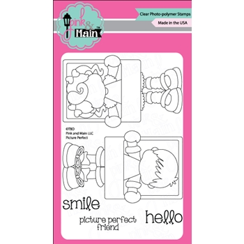 Pink and Main PICTURE PERFECT Clear Stamp Set 022382