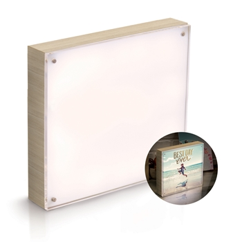 We R Memory Keepers NATURAL WOOD FRAME 8x8 PhotoLights 663020
