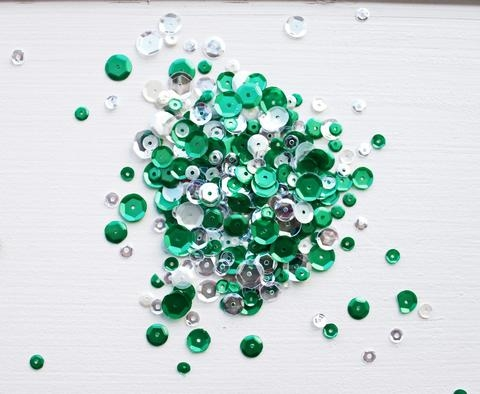 Neat and Tangled FROSTED PINE Sequin Mix NAT229 Preview Image