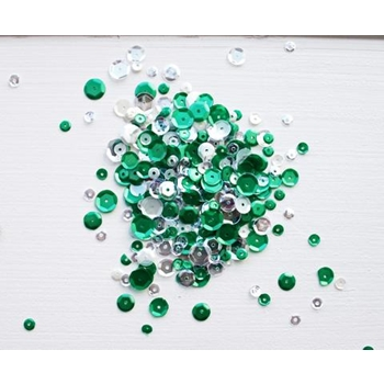 Neat and Tangled FROSTED PINE Sequin Mix