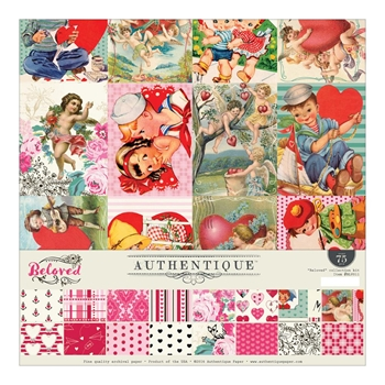 Authentique BELOVED 12 x 12 Collection Kit BLV011