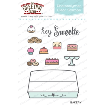 The Greeting Farm BAKERY Clear Stamps TGF284