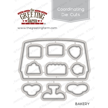 The Greeting Farm BAKERY Coordinating Die Cuts TGF285