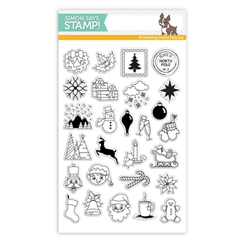Simon Says Clear Stamps ADVENT HOLIDAY ICONS SSS101683
