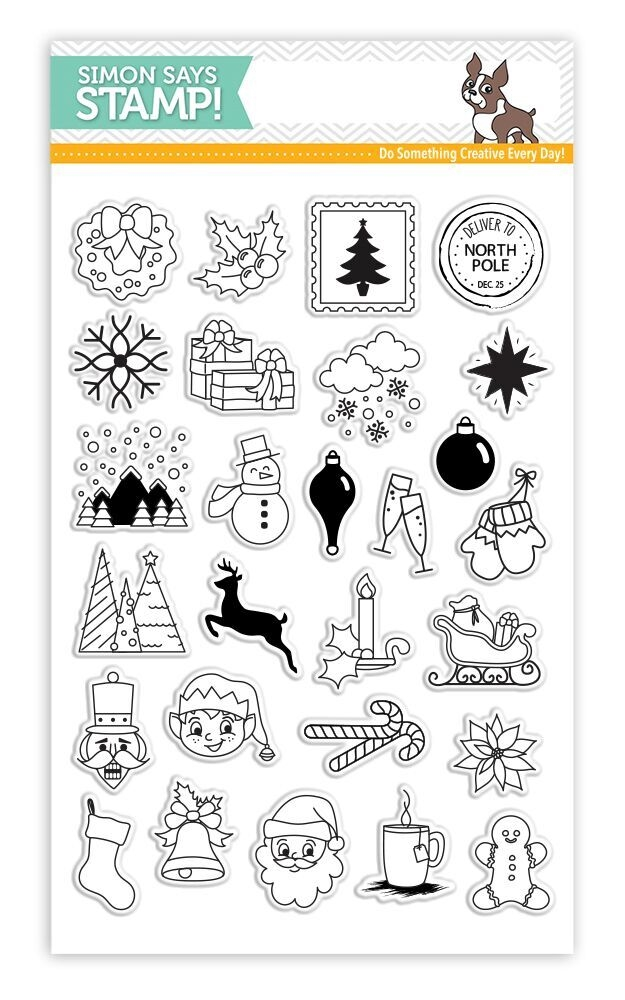 Simon Says Clear Stamps ADVENT HOLIDAY ICONS SSS101683 zoom image