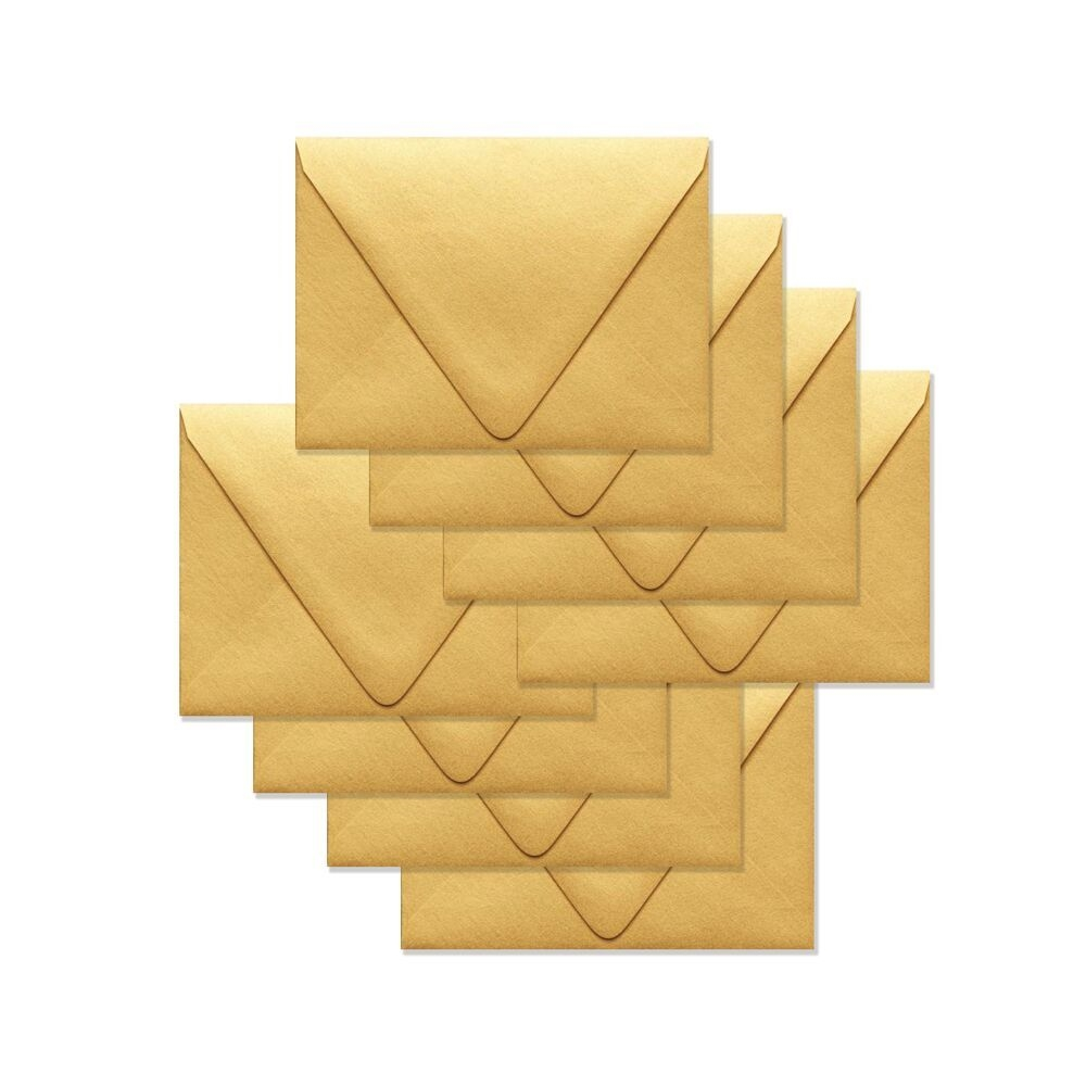 Simon Says Stamp Envelopes V FLAP METALLIC GOLD SSSE53 zoom image