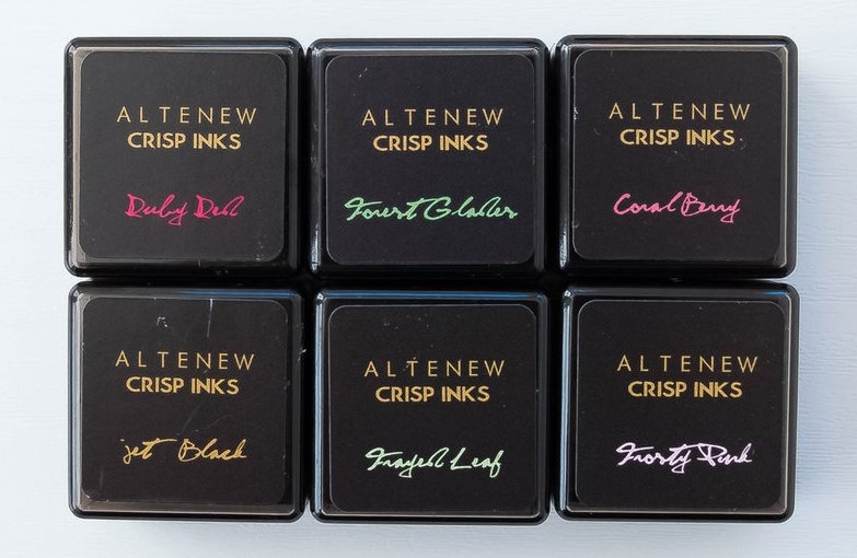 Altenew Floral 6 Mini Crisp Die Ink Set