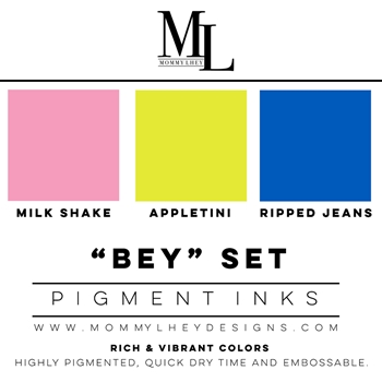 Mommy Lhey BEY SET Pigment Inks MLD159