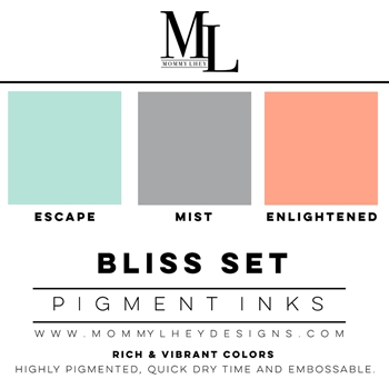 Mommy Lhey BLISS SET Pigment Inks MLD158