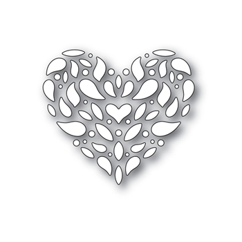 Simon Says Stamp CORBEL HEART Wafer Die S412