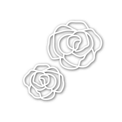 Simon Says Stamp ELEGANT ROSES Wafer Die SSSD111656 Preview Image