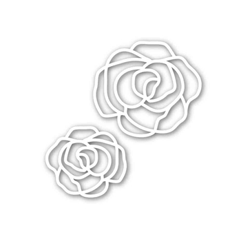 Simon Says Stamp ELEGANT ROSES Wafer Die SSSD111656