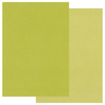 Claritystamp A5 TWO TONE GREEN PARCHMENT Paper GROAC40192A5