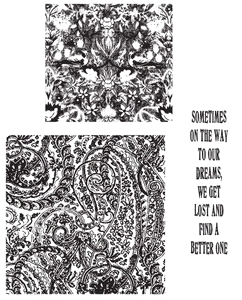 Tim Holtz Cling Rubber Stamps GARMENT DISTRICT CMS007 zoom image