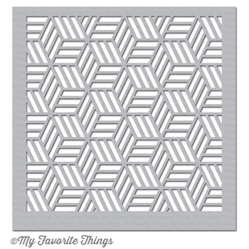 My Favorite Things STAR GRID Mixable Stencil MFT ST94