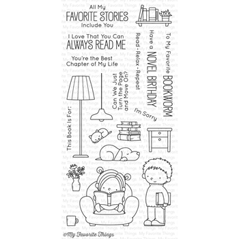 My Favorite Things OUR STORY Clear Stamps BB41