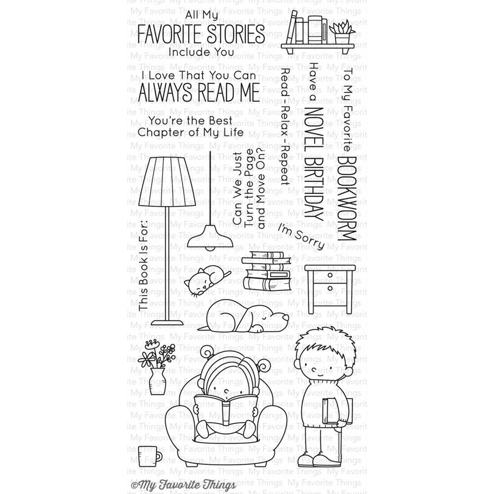 My Favorite Things OUR STORY Clear Stamps BB41 zoom image
