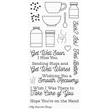 My Favorite Things FEEL BETTER Clear Stamps CS163