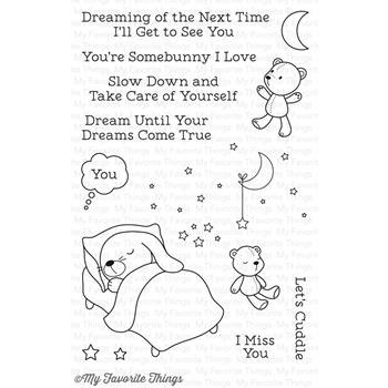 My Favorite Things SOMEBUNNY I LOVE Clear Stamps CS148