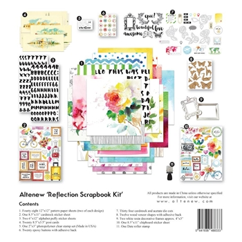 Altenew REFLECTIONS Scrapbook Kit ALT1466