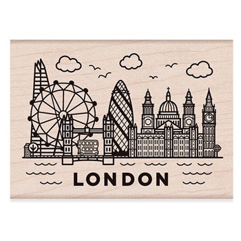 Hero Arts Rubber Stamps DESTINATION LONDON H6195
