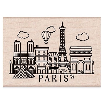 Hero Arts Rubber Stamps DESTINATION PARIS H6194