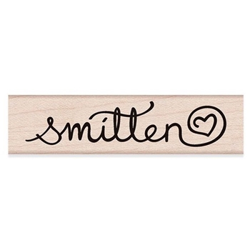 Hero Arts Rubber Stamp SMITTEN C6192