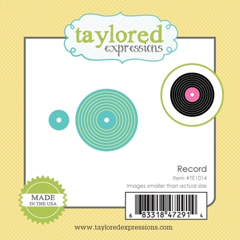 Taylored Expressions Little Bits RECORD Die Set TE1014