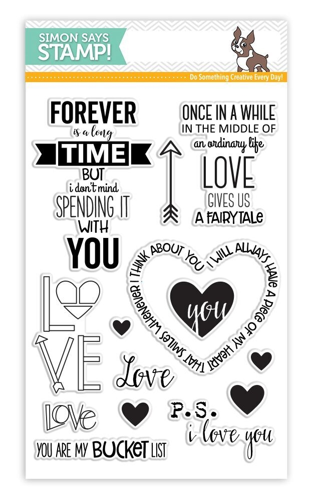 Simon Says Clear Stamps LOVE AND QUOTES