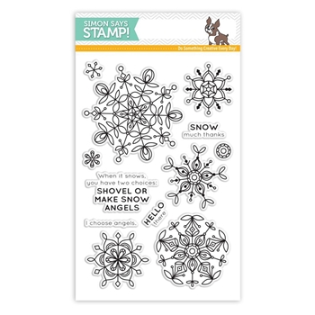 Simon Says Clear Stamps FROZEN FRACTALS SSS101694