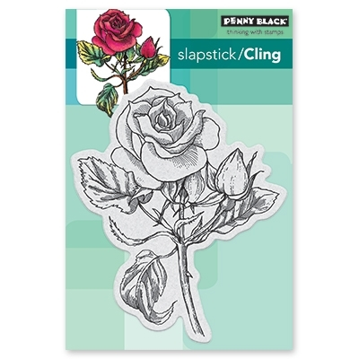 Penny Black Cling Stamp RED BLUSH 40-506 zoom image