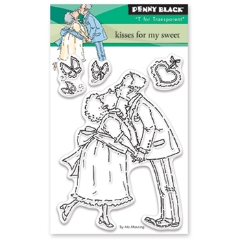 Penny Black Clear Stamps KISSES FOR MY SWEET 30-395
