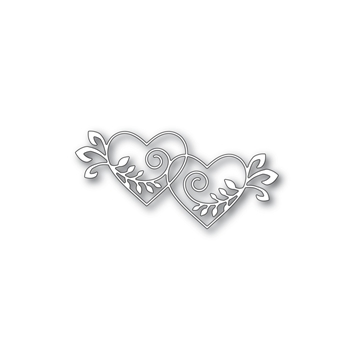Simon Says Stamp HEARTS ENTWINE Wafer Die S424 Hey Love