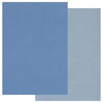Claritystamp A5 TWO TONE BLUE PARCHMENT Paper GROAC40190A5