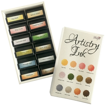 Claritystamp HAY STACK Mini Artistry Ink Pads And Storage INKAT50226XX