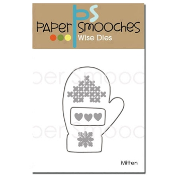 Paper Smooches MITTEN Wise Die DED358