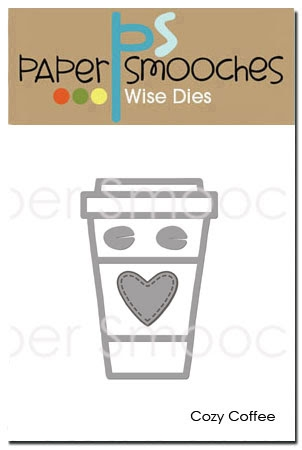 Paper Smooches COZY COFFEE Wise Dies DED356 Preview Image