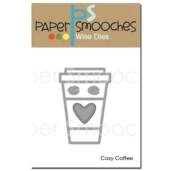 Paper Smooches COZY COFFEE Wise Dies DED356