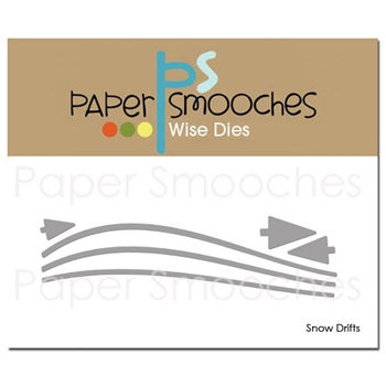 Paper Smooches SNOW DRIFTS Wise Dies DED359