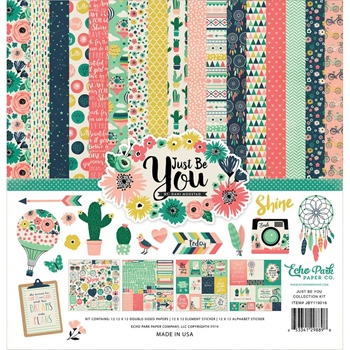 Echo Park JUST BE YOU 12 x 12 Collection Kit JBY119016