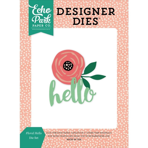 Echo Park FLORAL HELLO Die Set JBY119040 Preview Image