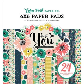 Echo Park JUST BE YOU 6 x 6 Paper Pad JBY119023