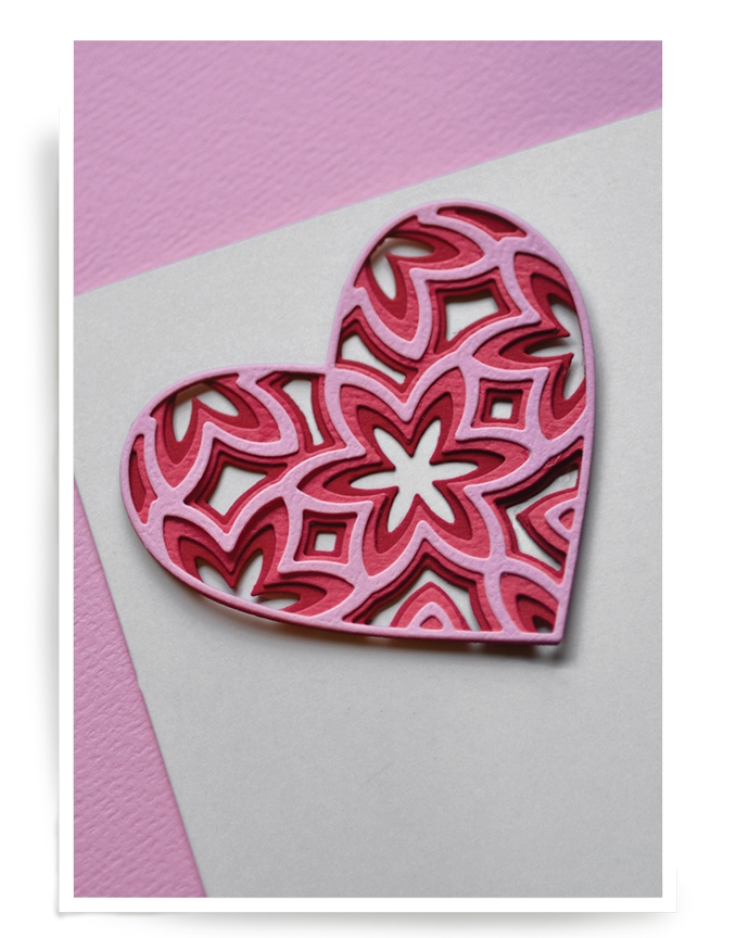 Birch Press Design CAPRICE HEART LAYER SET Craft Dies 56058 zoom image