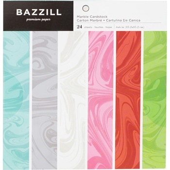 Bazzill MARBLE 6x6 Paper Pad 300562