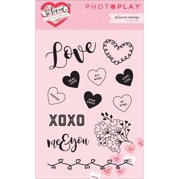 PhotoPlay SO LOVED Clear Stamp Set PPSL2428